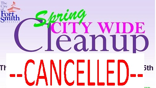2020 april cleanup CANCELLED