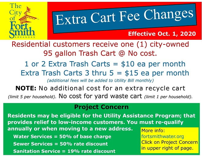 Extra Cart Fee Changess FB post